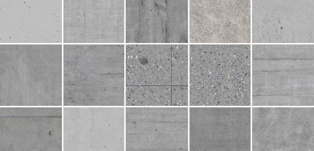 Seamless tileable Concrete Textures