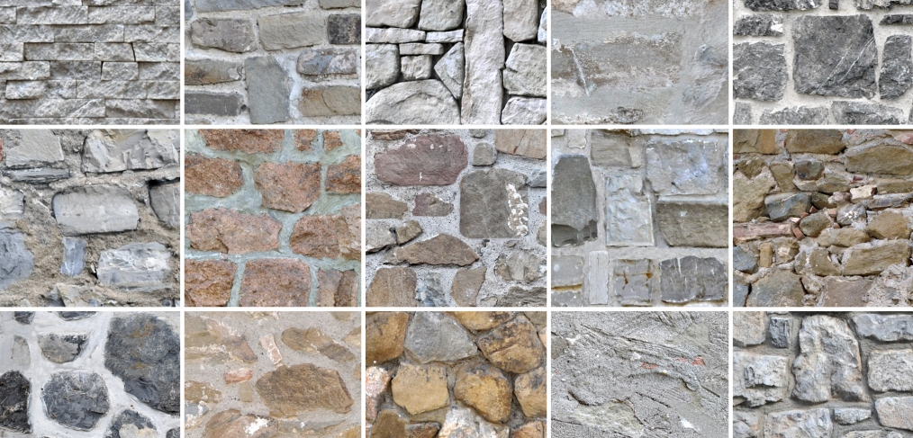 Seamless tileable Stone Wall Textures
